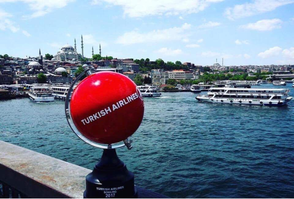 The Turkish Airlines Bowling Trophie