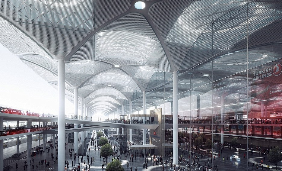 New Istanbul Airport Terminal